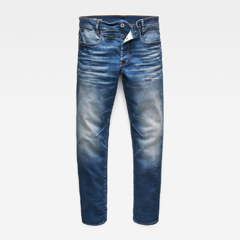 Men's 3301 Slim Jeans Faded Quartz Denim superstretch