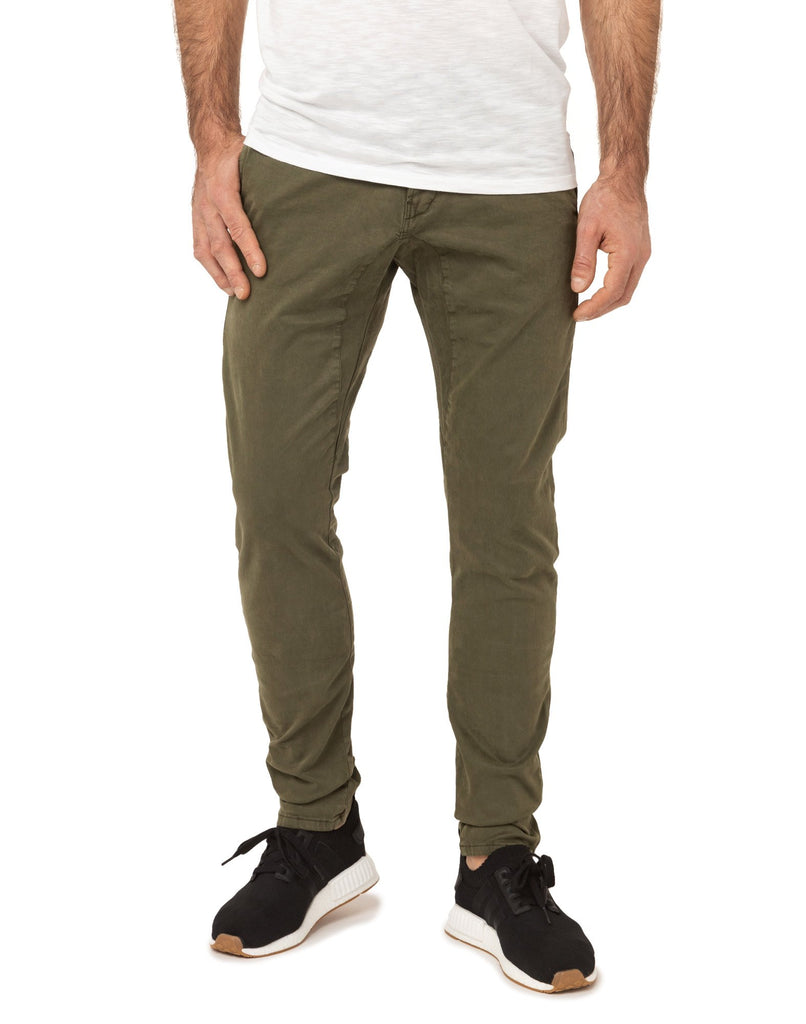 Men's Joggjeans Dening Chino Pants Cedar Green