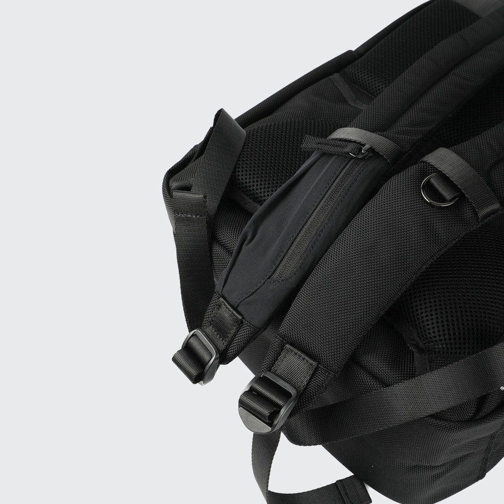 Venque Amsterdam 2.0 Nylon Black Unisex Backpack