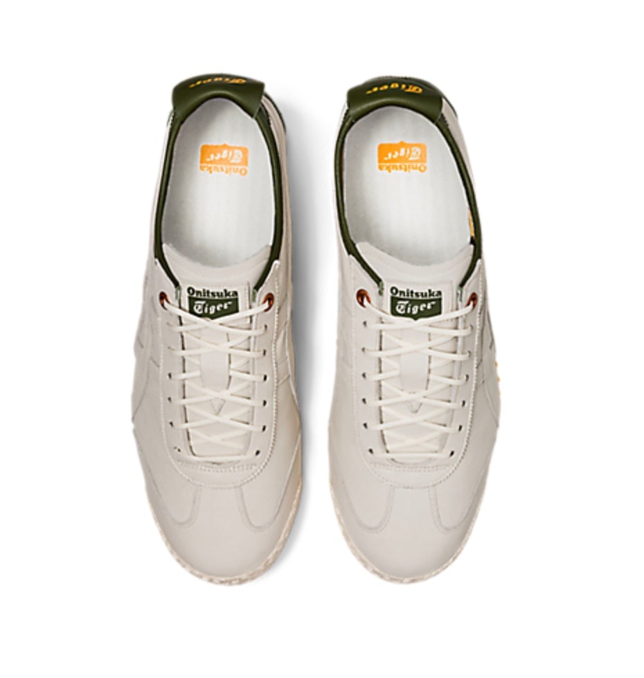 Men's Special edition gel insole Mexico 66 SD Cream/Smog Green Running Shoes