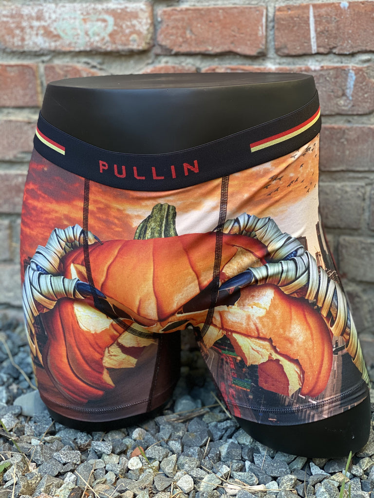 Men's Scary 👻 Pumpkin 🎃 Fashion2 Underwear