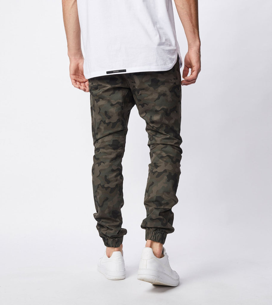 Men's Sureshot Joggers Dark Camo slim stretch