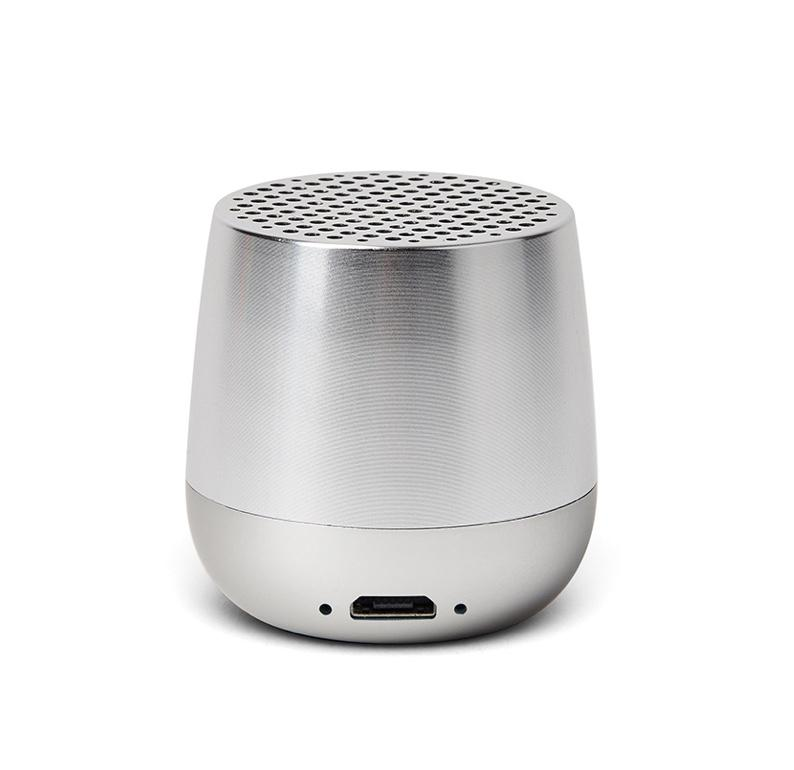 Mini Speaker Mino Polished Silver 3W Bluetooth portable