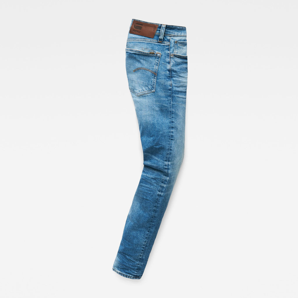 Men's Denim 3301 Straight Authentic faded blue Jeans