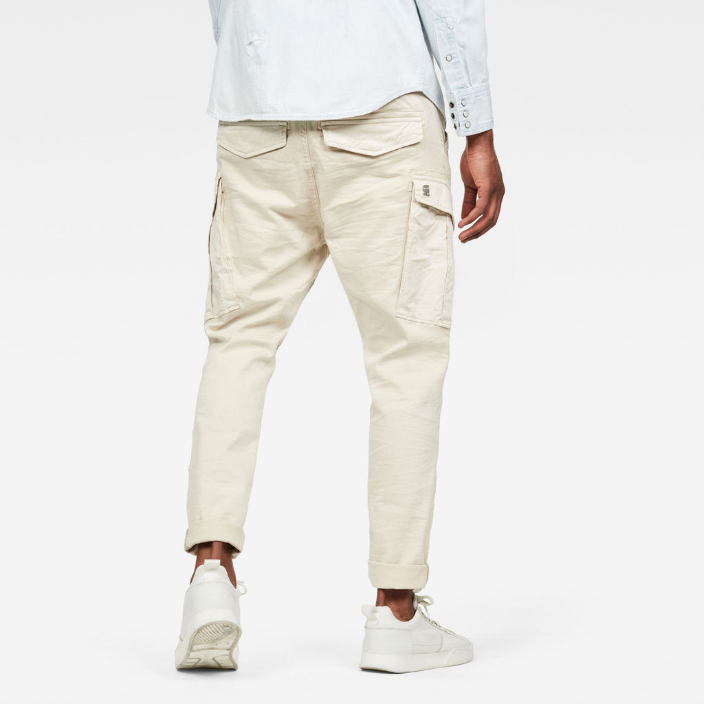 G-Star Men's cargo Slim trainer joggjeans whitebait superstretch