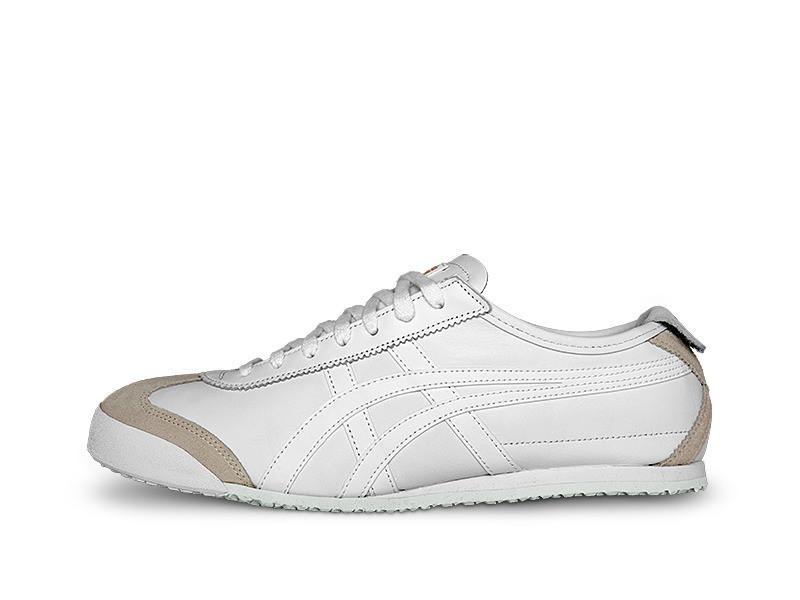 Asics-Onitsuka Tiger MEXICO 66 White/White Men's Running Shoes