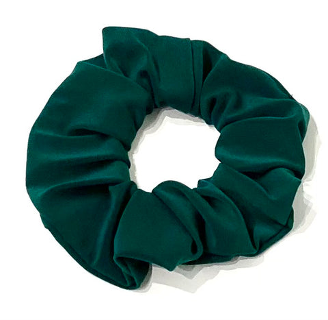 Forest Green Scrunchie