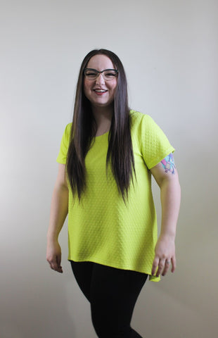 Highlighter Yellow Tee