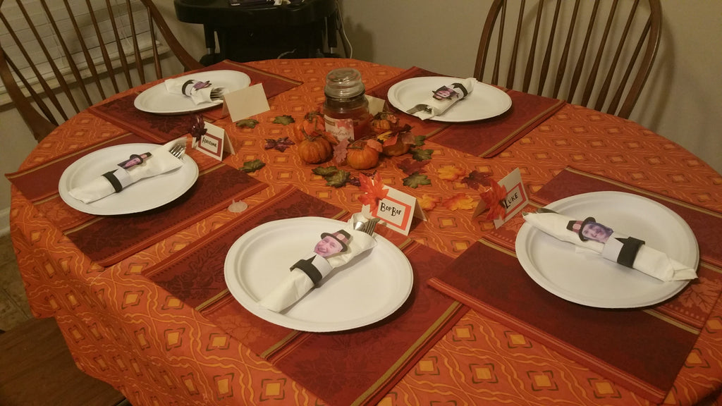 BONUS: Super-Cute, Cheap Thanksgiving Table Settings