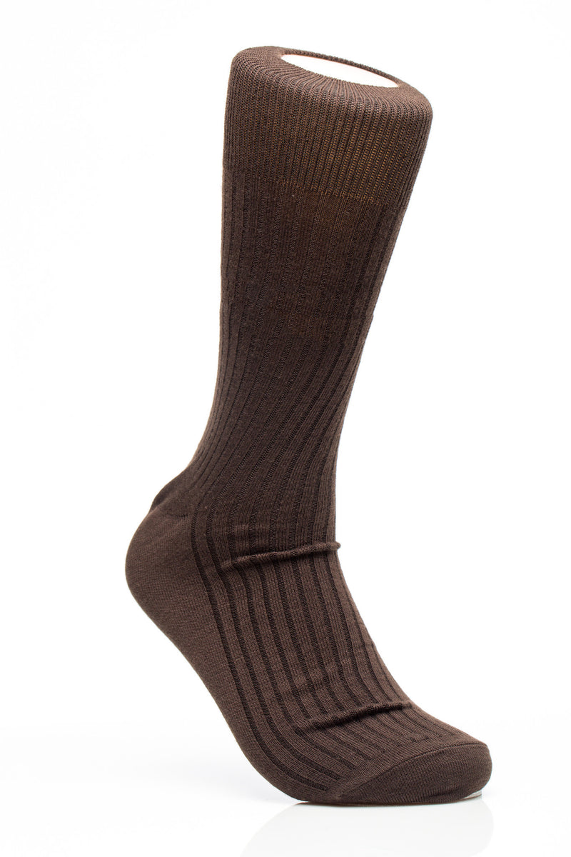 Men's Missionary Dress Socks in Tan