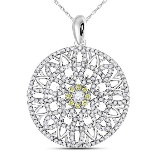 Moroccan Inspired Diamond Medallion