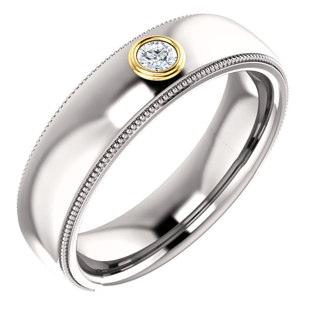 CUSTOMIZABLE DIAMOND WEDDING BAND