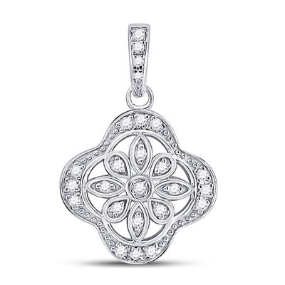 1/10CTW DIAMOND PENDANT