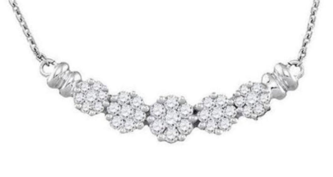 1/2CTW Diamond Necklace