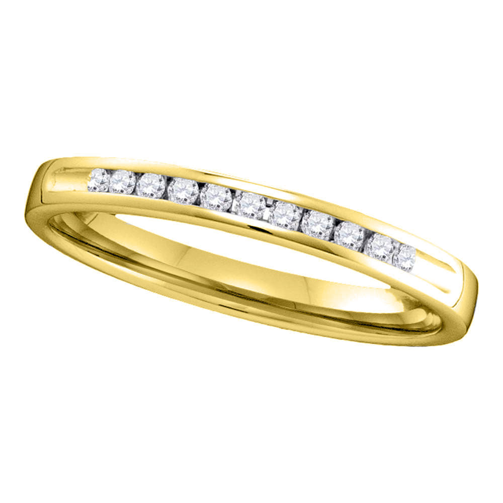 Channel Set Diamond Band  40724