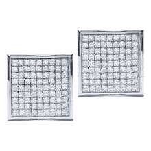 Load image into Gallery viewer, Micro Pave Diamond Earrings