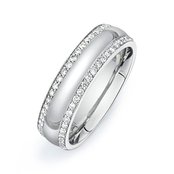 1Ctw Diamond Band  V002