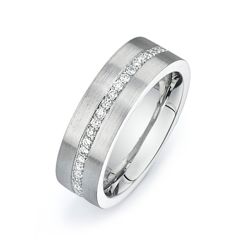Custom Made 1 Carat Diamond Band  V005