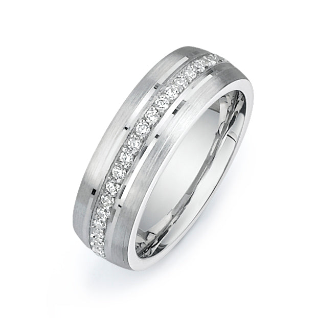1/2CTW Diamond Band  V050