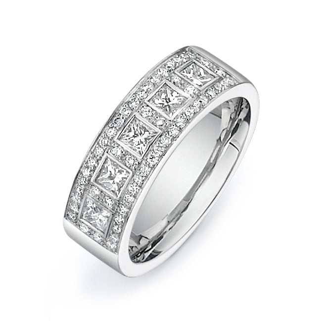 1.25CTW Diamond Band