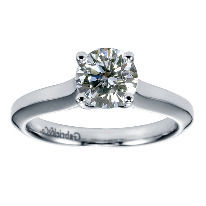 Lab Grown 1.08Ct Diamond Solitaire VVS1 D XXX