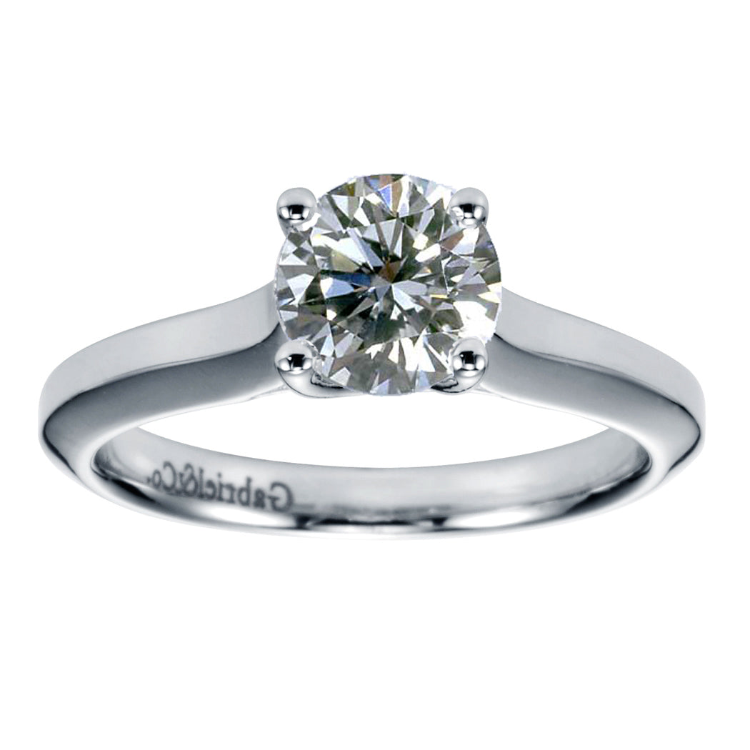 Lab Grown 1Ct Diamond Solitaire