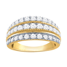 Load image into Gallery viewer, 1 Carat Diamond Anniversary Band