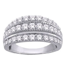 Load image into Gallery viewer, 1/2 Carat Diamond Anniversary Band