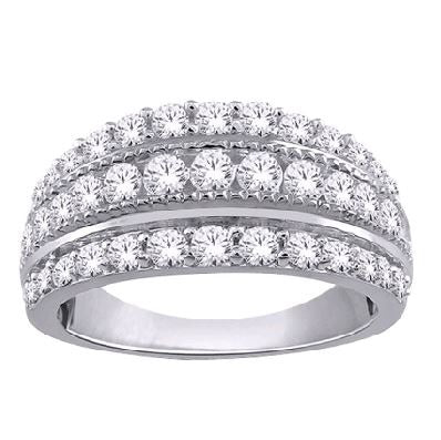 1/2 Carat Diamond Anniversary Band