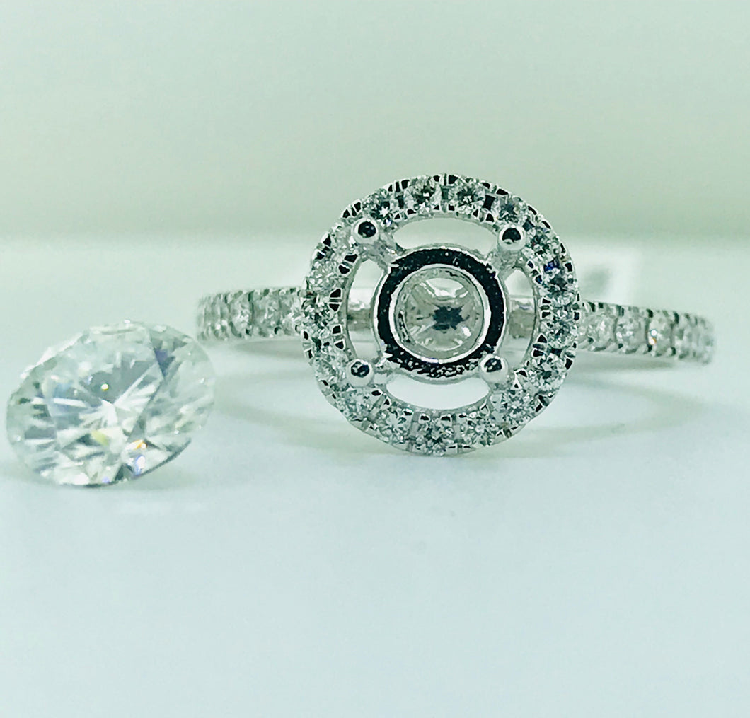 Diamond Setting for your Stone