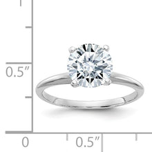 1.5 CARAT MOISSANITE SOLITAIRE RING