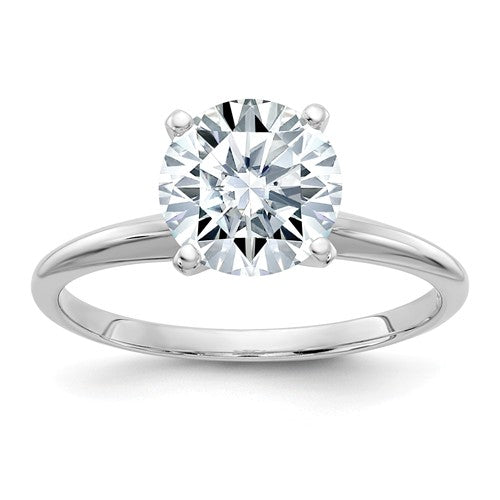 3 Carat Lab Grown Moissanite Solitaire Ring  WGSH15-17MP