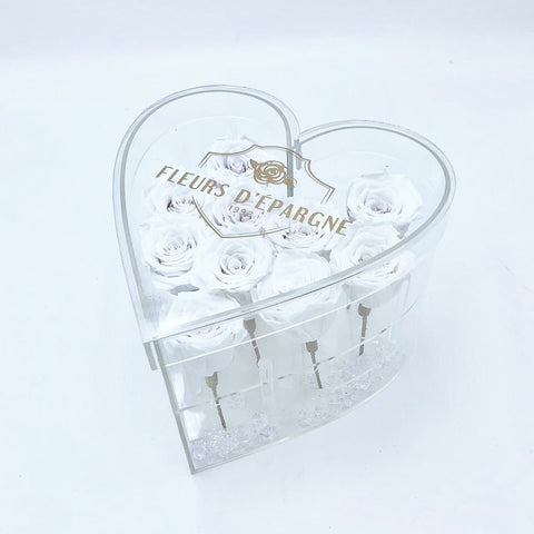 Crystal Heart Box