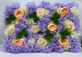 Flower Wall - Purchase/Rental - Purple Mix
