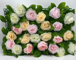 Flower Wall - Purchase/Rental - Multi Rose Mix