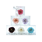 Luxe Crystal Rose Box