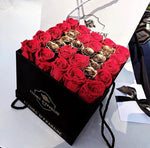 Prestige Rose Square Box