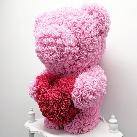 Sweetheart Jumbo Rose Bear