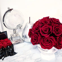 Load image into Gallery viewer, Dainty Flower Ball in Red Velvet Roses