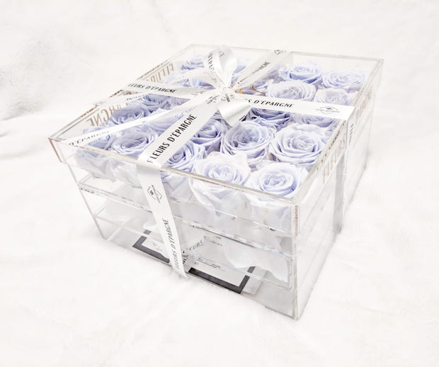 Ultimate Crystal Vanity Box | Periwinkle Purple