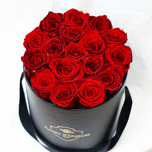Bed of Red Roses in our Original Rose Bucket