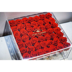 Forty-Nine Rose Crystal Box