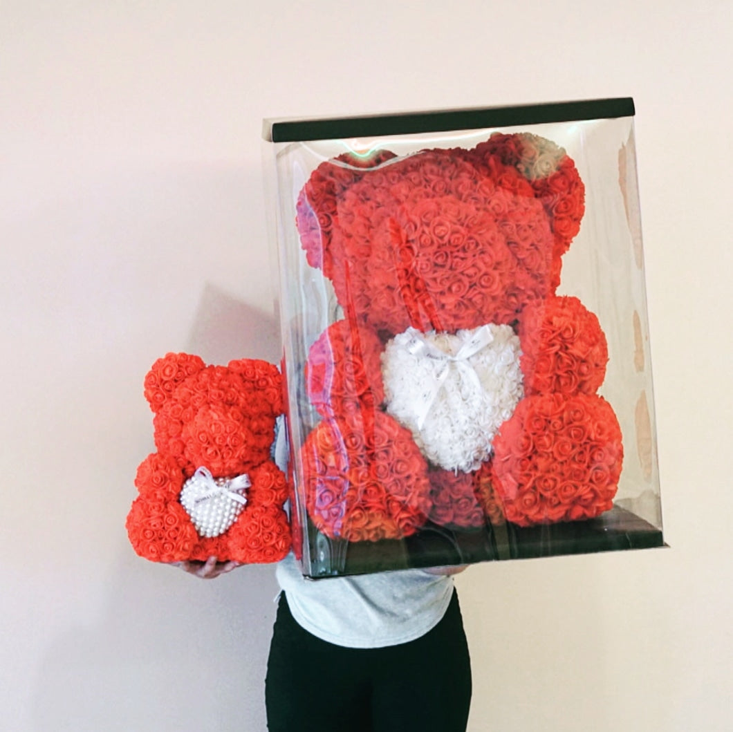 King-Size Sweetheart Rose Bear