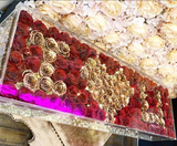 Crystal Elegance with 114 roses