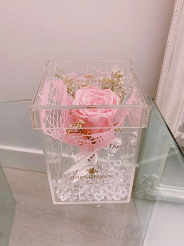 Crystal Bouquet Box