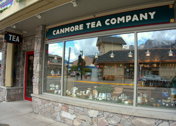 Canmore Tea company retail location now open