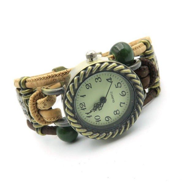 """Faro"" Cork Watch"