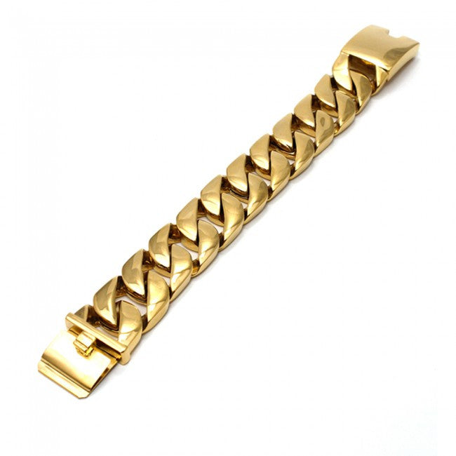 Miami Cuban Link Bracelet 25mm