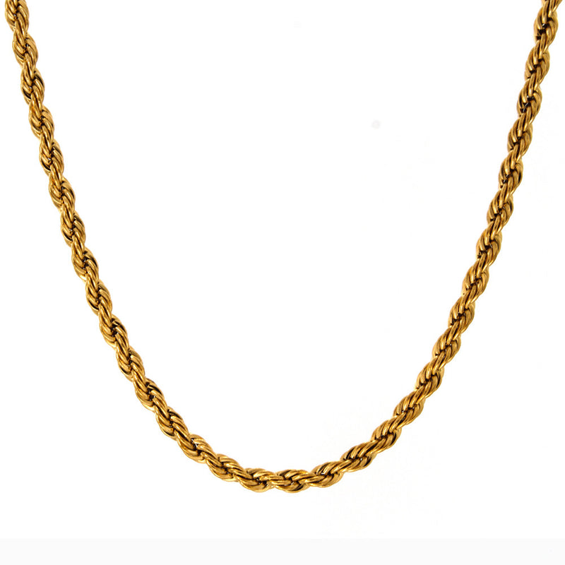 Rope Chain 14K Gold 2mm