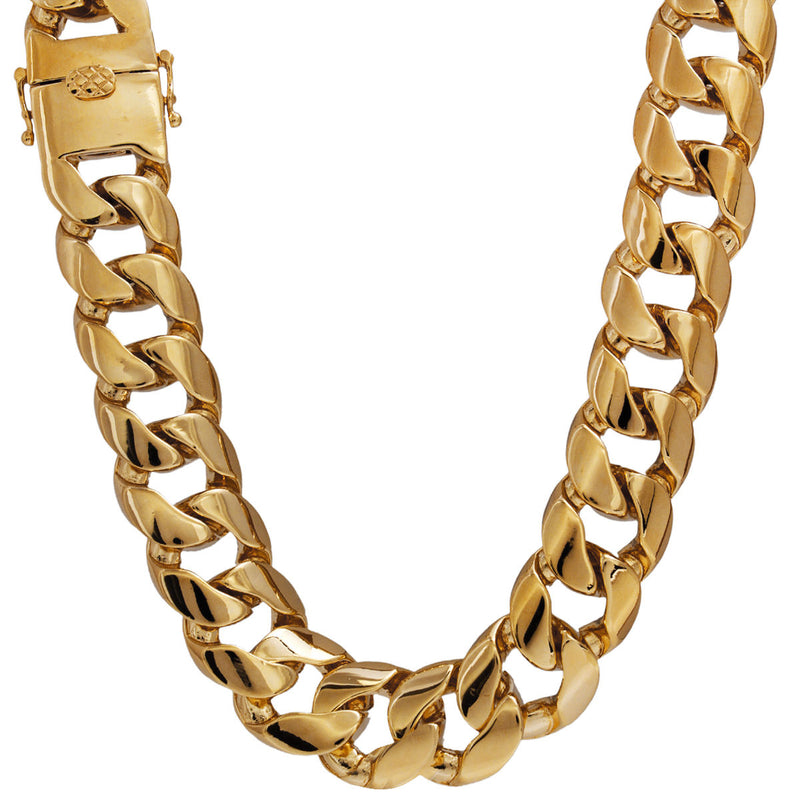 Miami Cuban Link Necklace 18mm